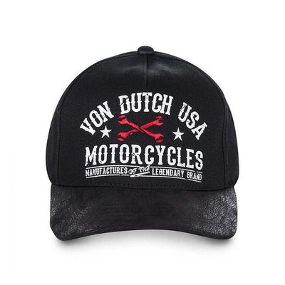 Von Dutch baseballcap ZWART