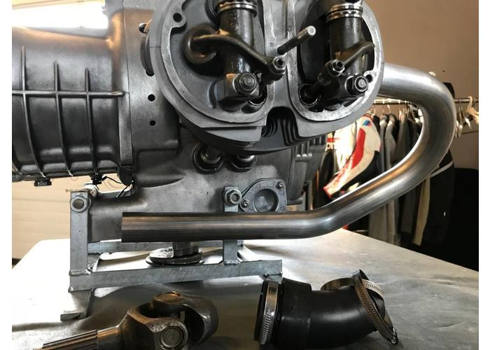 MCU 35 MM BMW-R bochtenset R2V roestvrij staal R45 & R65