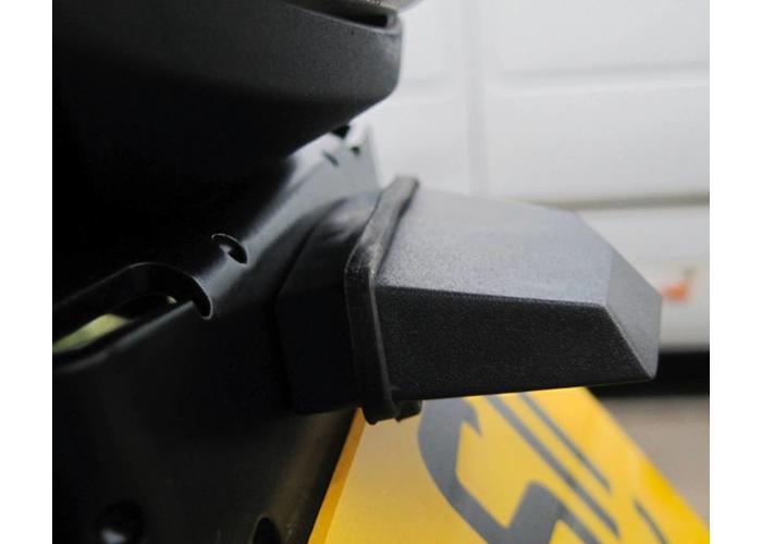 Black Universal Bolt on LED kentekenplaatverlichting - Emarked