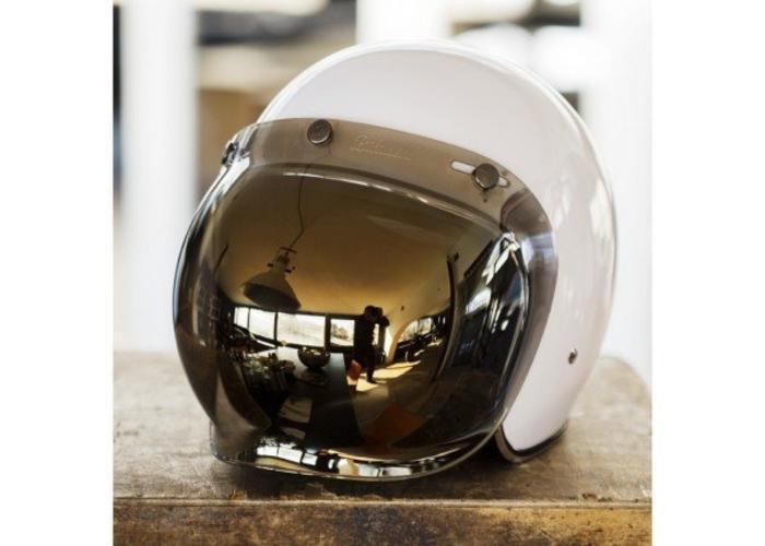 Biltwell Chrome Bubble Vizier