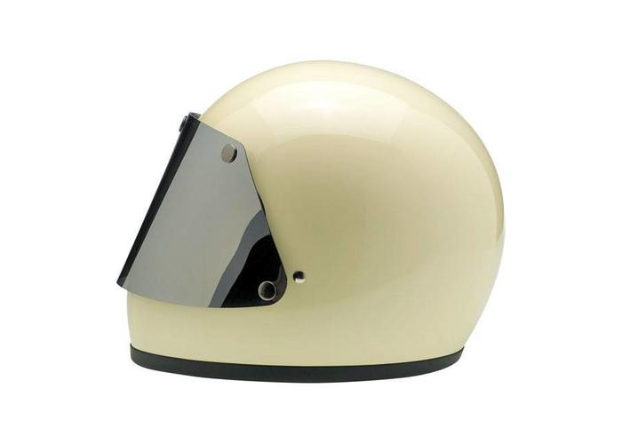 Biltwell Gringo Blast Shield Grote Chrome-spiegel