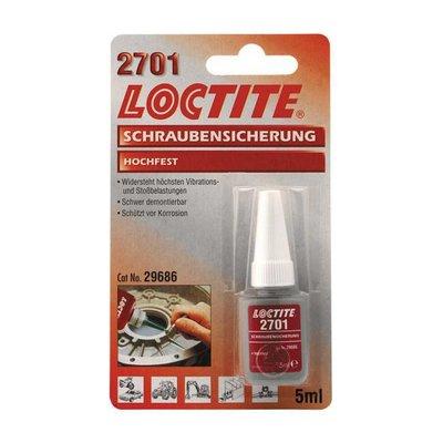 Loctite 2701 ROOD, Borgmiddel 5CC