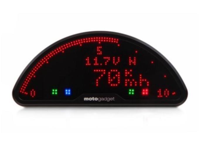 BMW K100 K1100 K1 kroonplaat Motoscope pro