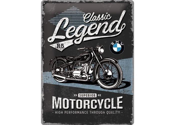 BMW legende 30x40 Reclame bord
