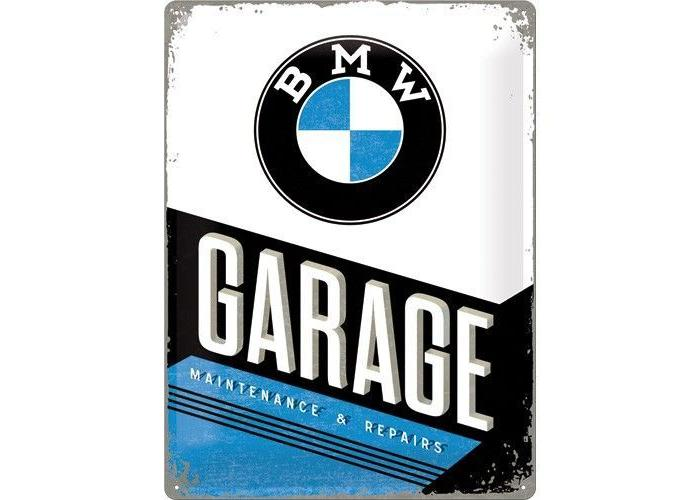 BMW garage 40X30 Reclame bord