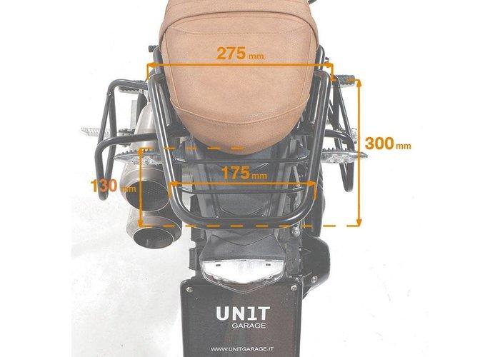 UNIT Garage ACHTERBAGAGERUIMTE MET PASSAGIERSGREEP