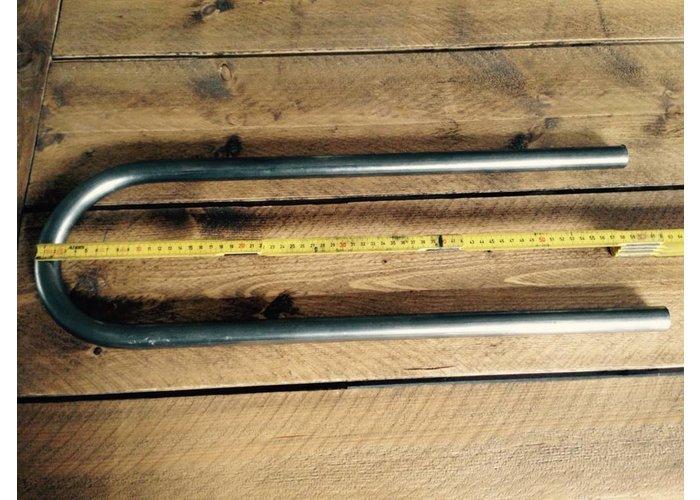 """MCU LONG 1"""" Cafe Racer Hoop 180 Graden Subframe Bocht OD: 210MM"""