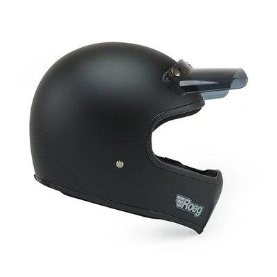 Roeg Peruna helm mat zwart