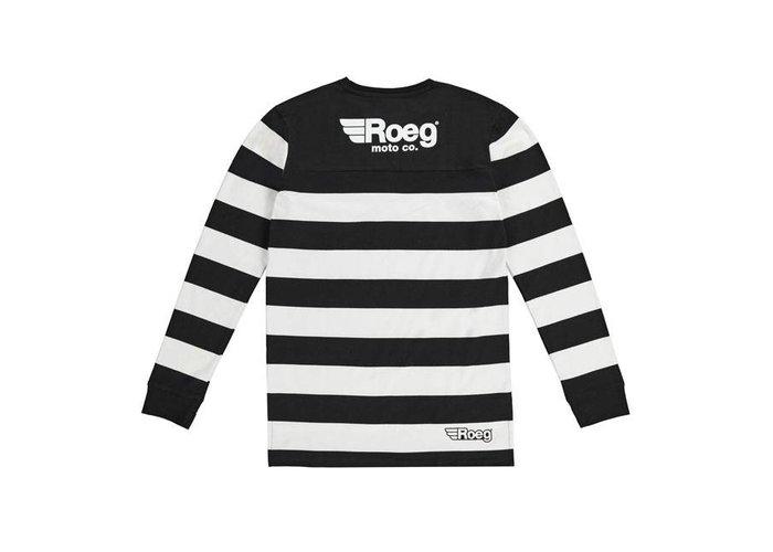 Roeg Seb jersey zwart / wit