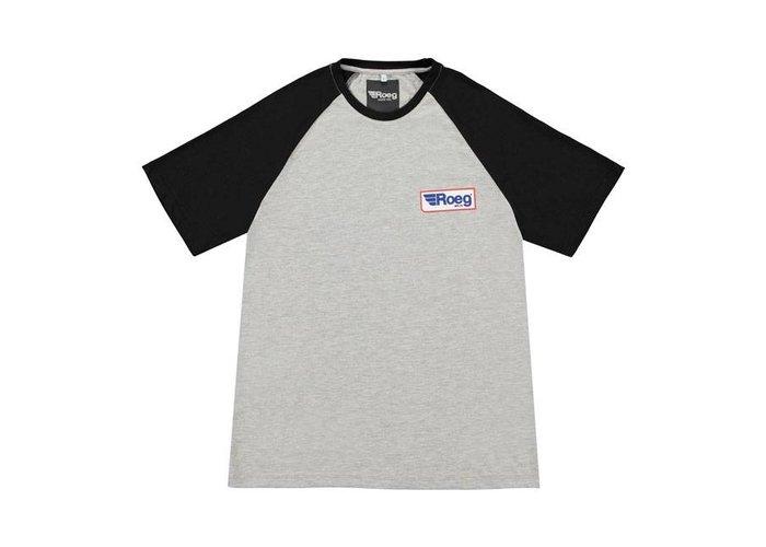 Roeg Frank heren t-shirt grijs / zwart