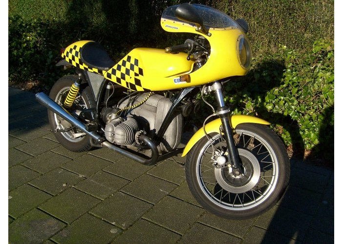 BMW R90S Classic Caferacer ZELFBOUW (M10S)
