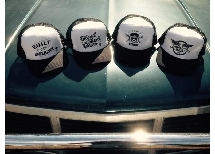 MCU Cap Black & White