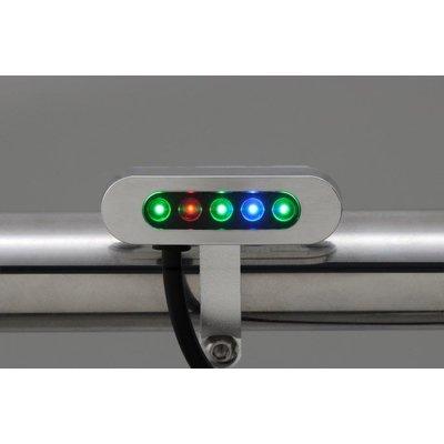 Daytona Chrome Kontrole lampen Micro