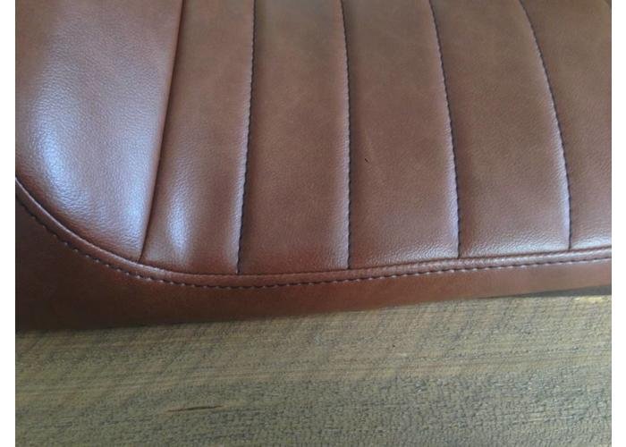 C.Racer Cafe Racer Seat Tuck N' Roll Vintage Brown 76