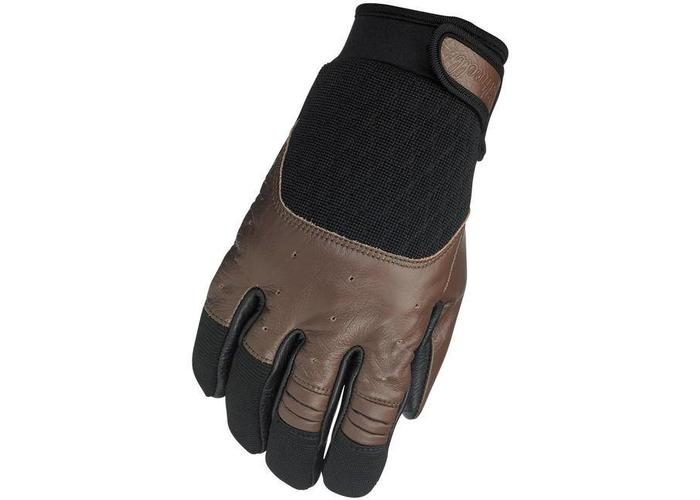 Biltwell Bantam Gloves Chocolat Black