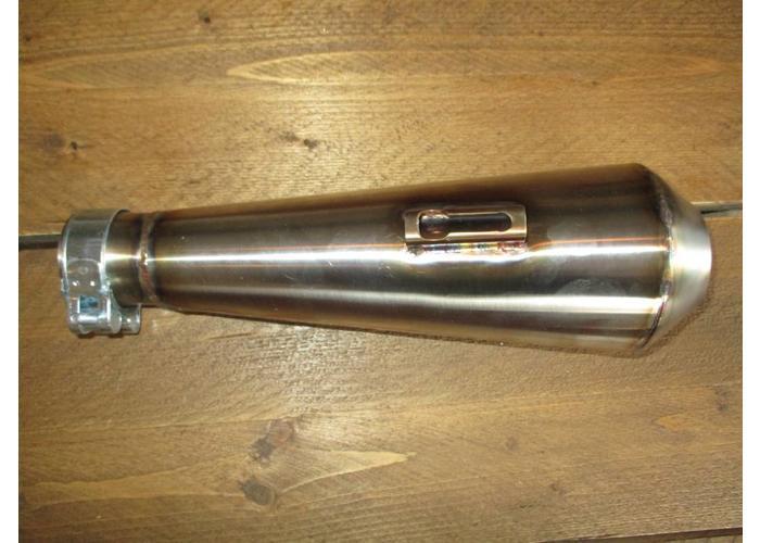 Handgemaakte RVS Megaton Demper + Killer (Selecteer Type)