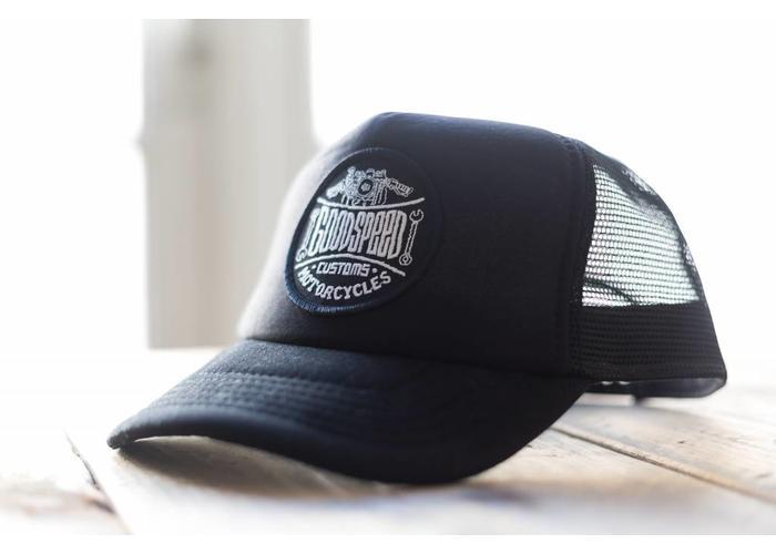 Goodspeed Cap - Black on Black