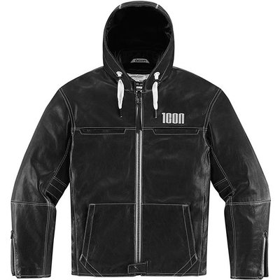 ICON One Thousand The Hood Black Jacket