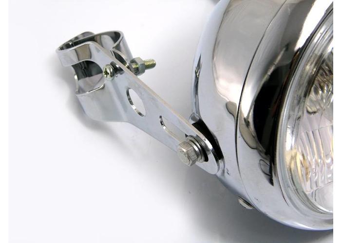 32mm - 40mm Chromen Koplamp Steunen