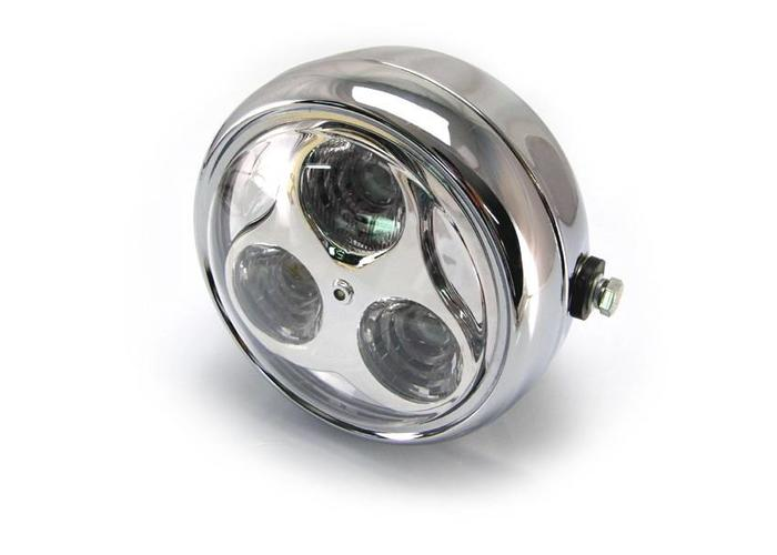 "6.75"" Cyclops Koplamp Chrome"