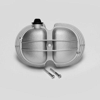 Kleppendeksel Extratouring met olie filter en uitwendige bouten voor BMW r2v Boxer modellen