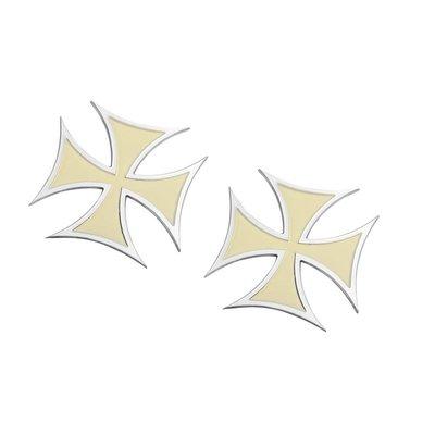 Motone Maltese Cross Badges