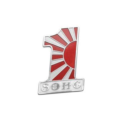 Motone SOHC Kamikaze Badge