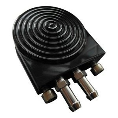 Oliefilter Adapter - Zwart