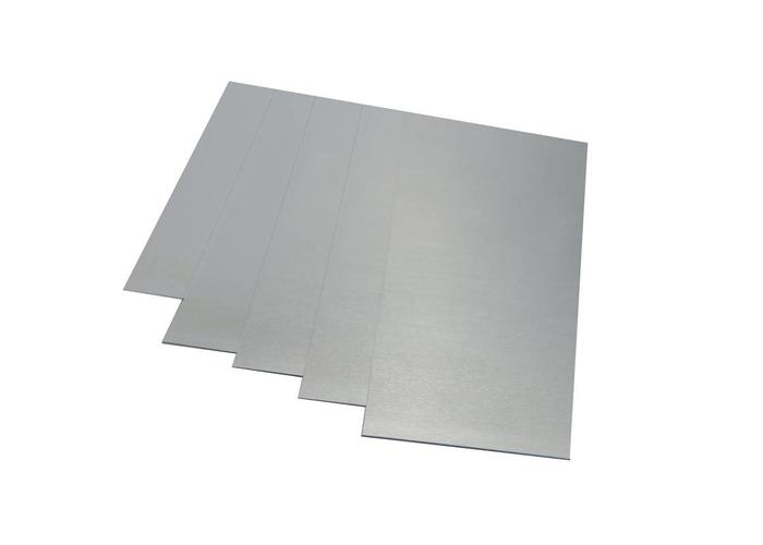 MCU Aluminium plaat 200x300x4mm