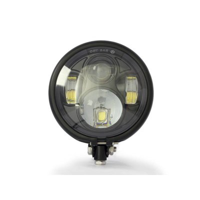 "5,75"" CREE LED Bates Style Koplamp Bottom Mount"