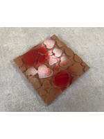 Hart chocolade tablet