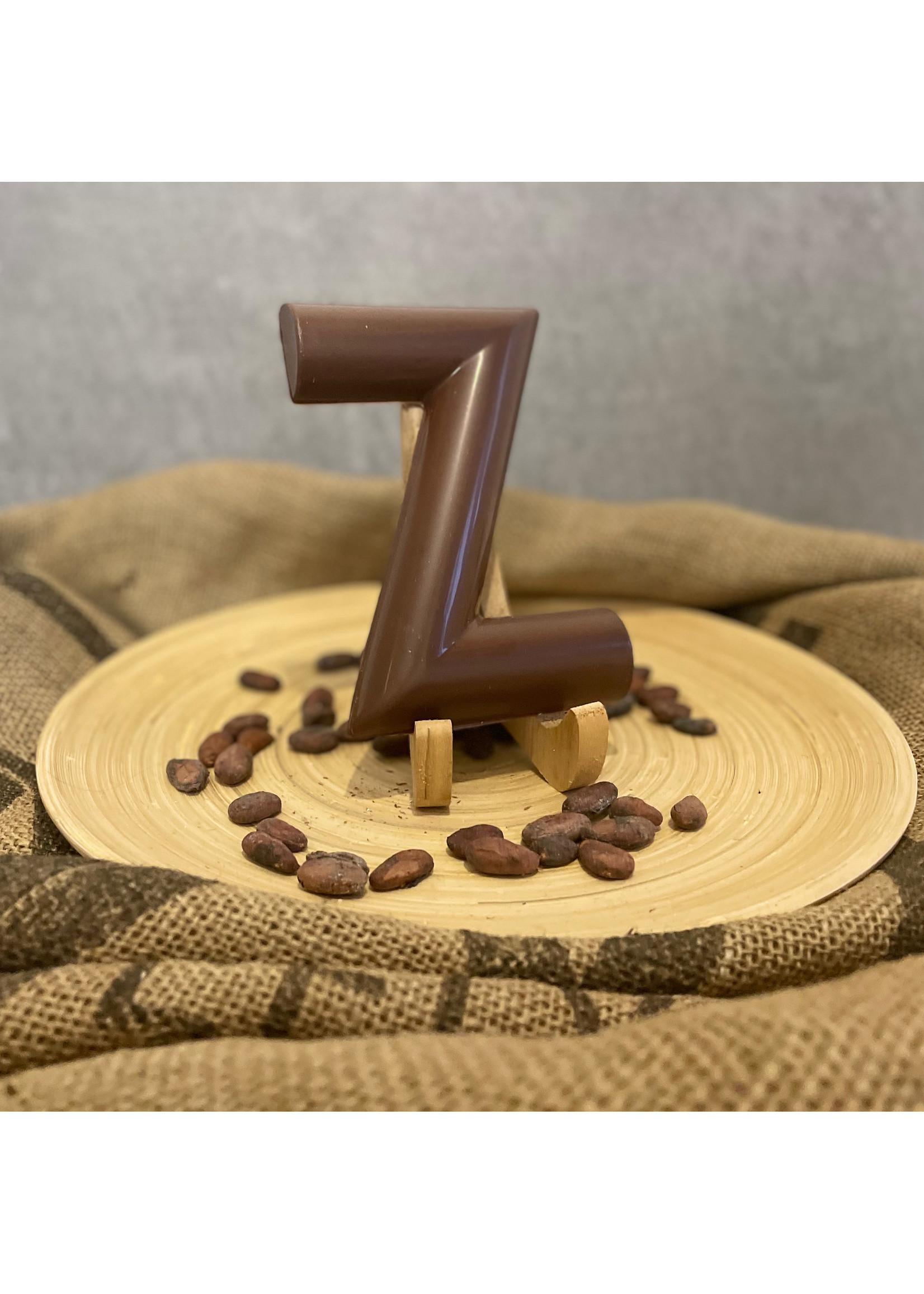 Gladde chocoladeletter Z