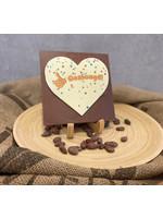 Chocolade hart geslaagd