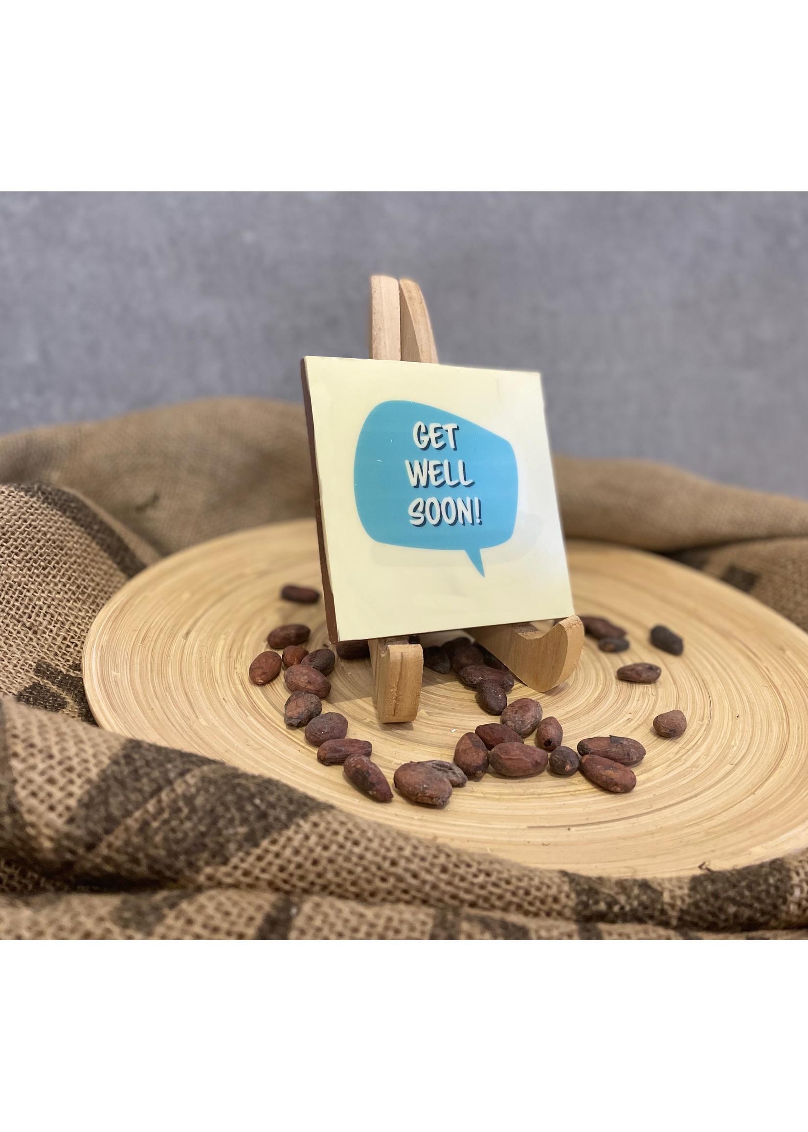 Get well soon chocolate!