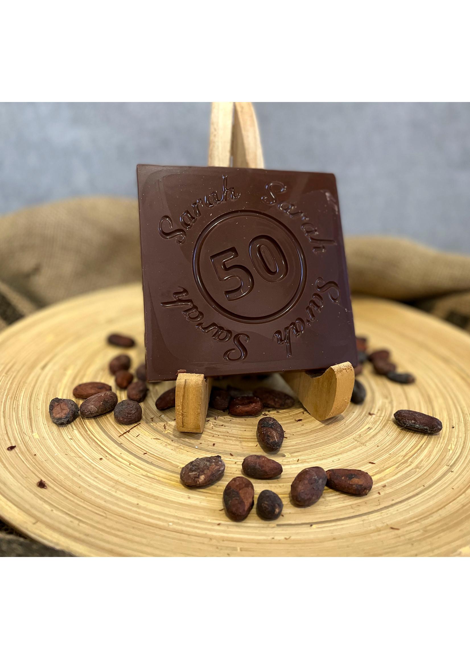 Sarah Chocolade 50 jaar cadeau