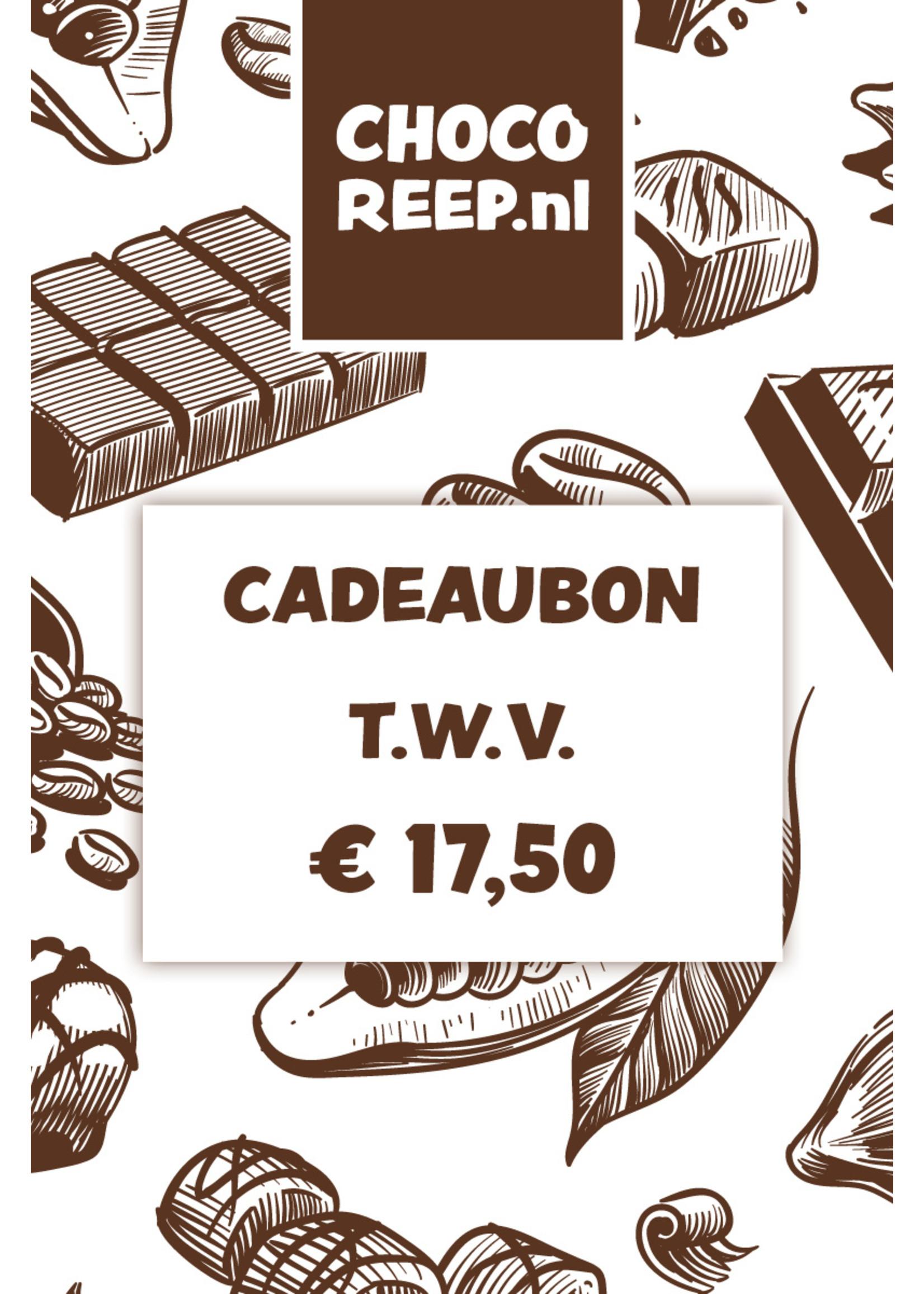 Cadeaubon t.w.v. € 17,50