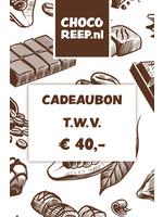 Cadeaubon € 40,-