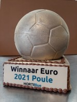 Chocolade voetbal troffee