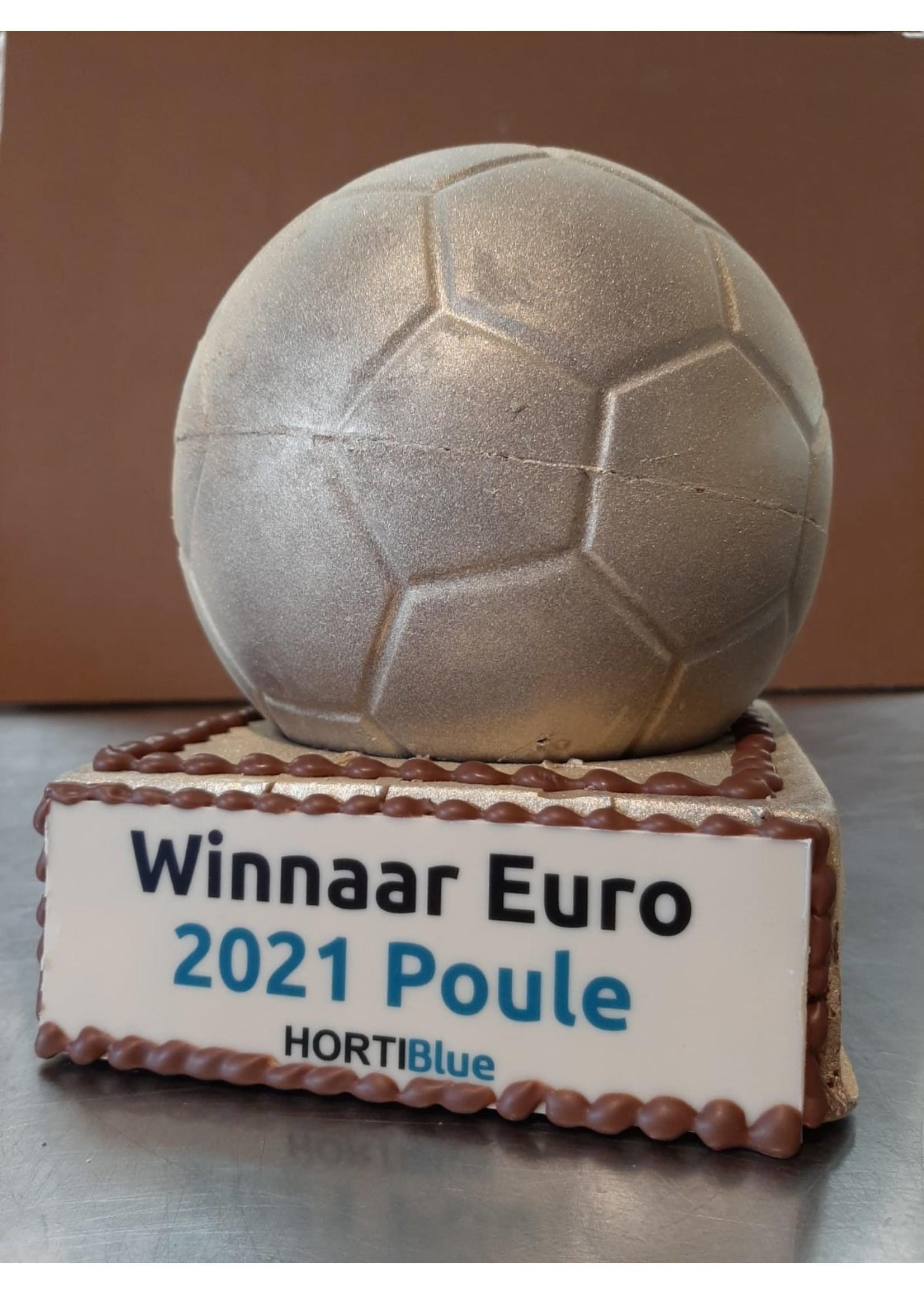 Chocolade voetbal troffee 1.25 KG!