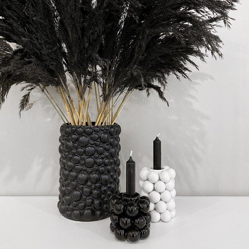 Pampas Grass Black 120 cm