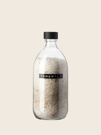 Wellmark Bath Salt Camomile Black