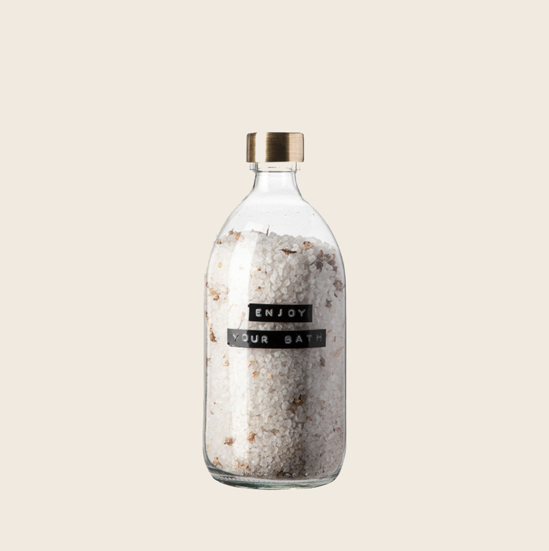 Wellmark Bath Salt Camomile Brass