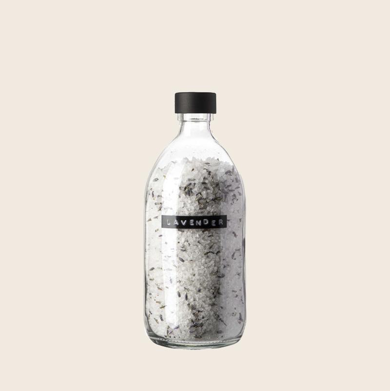 Wellmark Bath Salt Lavender Black