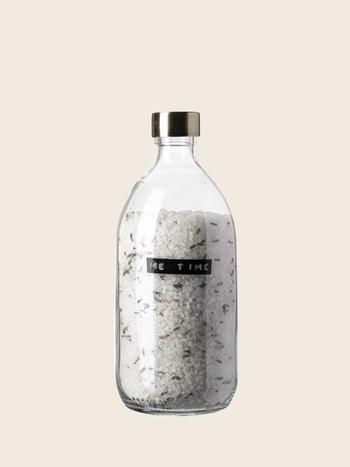 Wellmark Bath Salt Lavender Brass