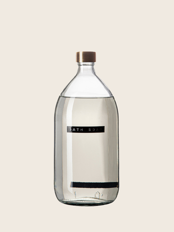 Wellmark Bath Soap 1L Brass Transparent