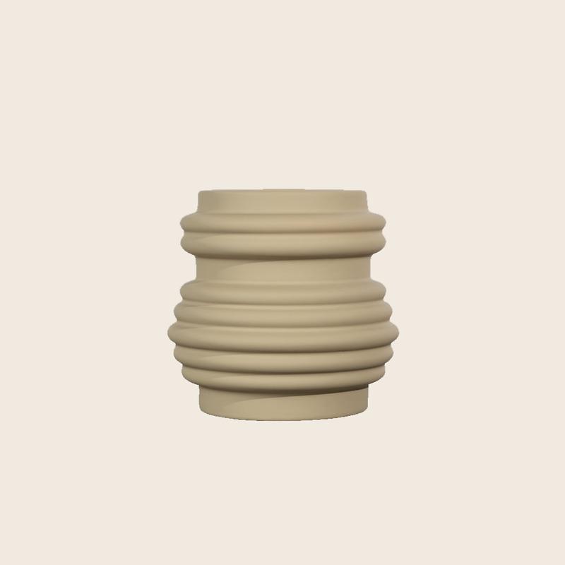 Beige Pot Small