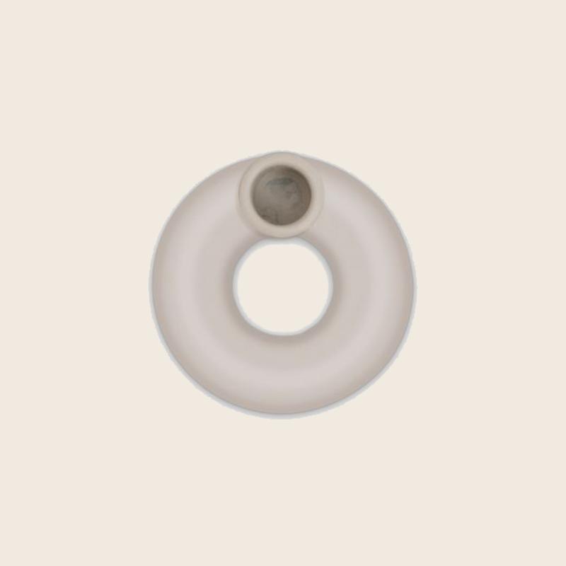 Candle Holder Donut Sand
