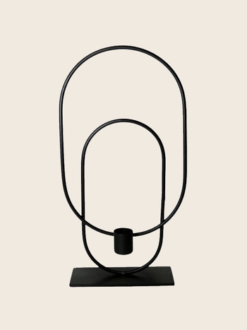Candle Holder Oval