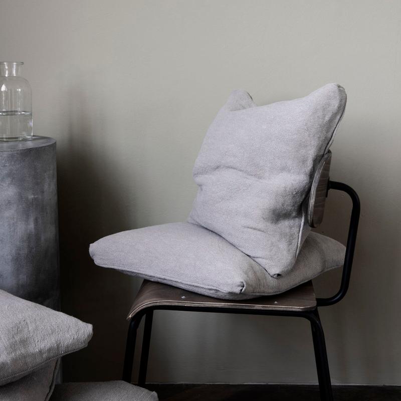House Doctor Chair Pad Alba Light Grey