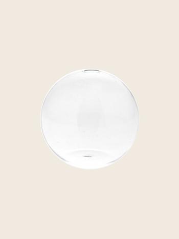 Clear Round Vase